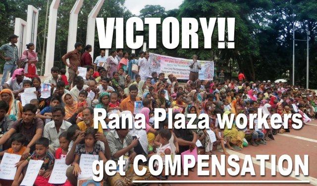 Victory for Rana Plaza Survivors!!