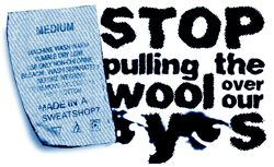 Stop pulling the wool over our eyes